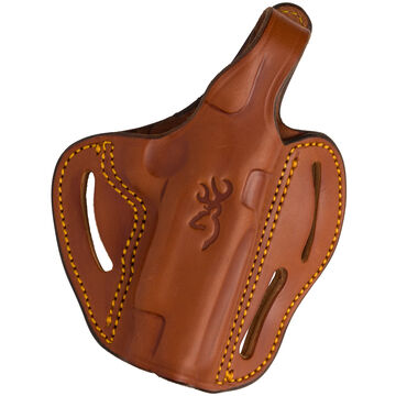 Browning 1911-22/1911-380 Multi-Angle Thumb Break Leather Holster - Right Hand