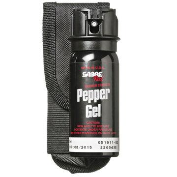 Sabre Red Tactical Flip Top Pepper Gel w/ Belt Holster