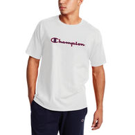 Champion Men's Classic Filled C Script Logo Short-Sleeve T-Shirt