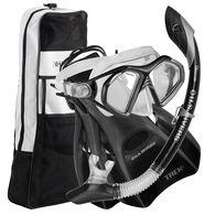 U.S. Divers Admiral LX Mask + Island Dry LX Snorkel + Trek Fin Set