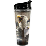 American Expedition Eagle Collage Tall Acrylic Tumbler