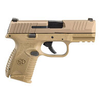 """FN 509 Compact NMS FDE 9mm 3.7"""" 10-Round Pistol w/ 2 Magazines"""