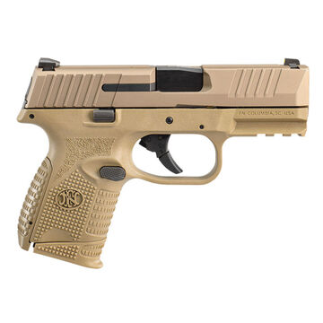 FN 509 Compact NMS FDE 9mm 3.7 10-Round Pistol w/ 2 Magazines