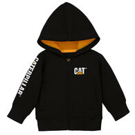 CAT Infant Boys' & Girls' Trademark Banner Zip Sweatshirt