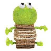 Savvy Tabby Crunchy Catnip Frog Cat Toy