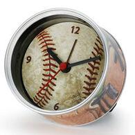 Big Sky Carvers Baseball Clock-n-Can