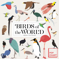 Birds of the World 2020 Wall Calendar by Workman Publishing Pop Chart Lab