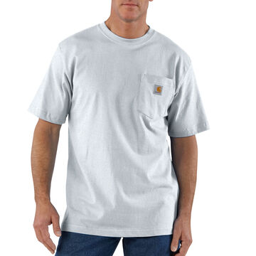 Carhartt Mens Workwear Short-Sleeve Pocket T-Shirt