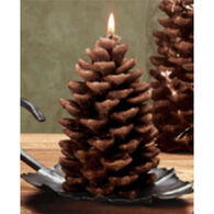 DECO GLOW Pinecone Candle - Small