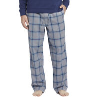 Life is Good Men's Slate Gray Plaid Classic Sleep Pant