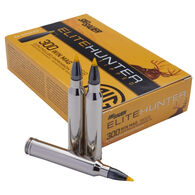 SIG Sauer Elite Hunter Tipped 300 Winchester Magnum 180 Grain Yellow Tip / Boat Tail Rifle Ammo (20)