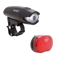 Planet Bike Beamer 1 & Blinky 3 Bicycle Light Set
