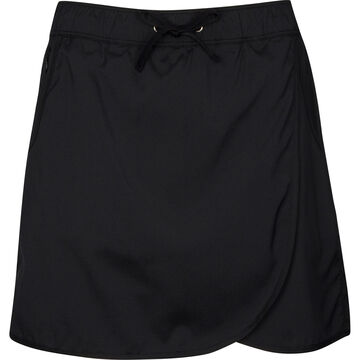 North River Womens Solid Stretch Woven Skort