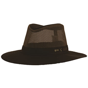 Outback Trading Mens River Guide with Mesh II Hat