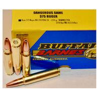 Buffalo Bore Dangerous Game 375 Ruger 275 Grain Barnes TSX Rifle Ammo (20)