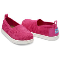 TOMS Toddler Girl's Tiny Mesh Knit Apargata Slip-On Shoe