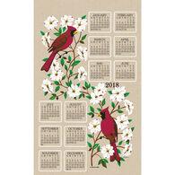 Kay Dee Designs 2018 Dogwood & Cardinal Calendar Towel
