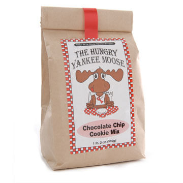 Hungry Yankee Moose Chocolate Chip Cookie Mix, 1 lb. 2 oz.