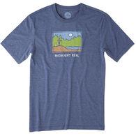 Life is Good Men's Highlight Real Cool Tee Sleep Shirt