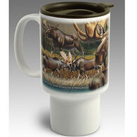 American Expedition Moose Stoneware Travel Mug