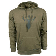 King's Camo Men's TriBlend Fleece Hoodie