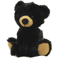 Wishpets Stuffed Sitting Black Bear