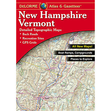 DeLorme New Hampshire Vermont Atlas & Gazetteer