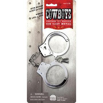 Parris Manufacturing Children's Toy Western Handcuffs