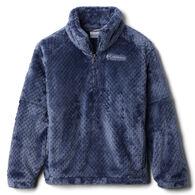 Columbia Girl's Fire Side II Half-Zip Sherpa Fleece Pullover