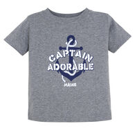 Artforms Infant Captain Adorable Short-Sleeve T-Shirt