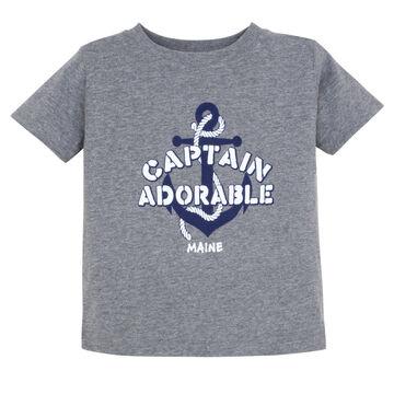 Artforms Infant Captain Adorable Short-Sleeve T-Shirt