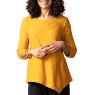 Habitat Women's Asymmetrical Elbow Long-Sleeve Top