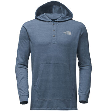 The North Face Mens Henley Tri-Blend Hoodie