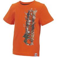 Carhartt Infant/Toddler Boys' Vertical Camo Short-Sleeve T-Shirt
