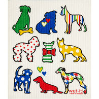 Wet-it! Swedish Cloth - Dog Lover Multi