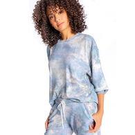 P.J. Salvage Women's Cloudy Days Crew Neck Sleep Long-Sleeve Shirt