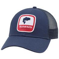 Simms Men's Bass Patch Trucker Hat