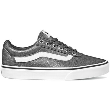Vans Womens Ward Lurex Glitter Textile Slip-On Sneaker