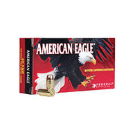 American Eagle 9mm Luger (9x19mm Parabellum) 147 Grain FMJ Flat Point Handgun Ammo (50)