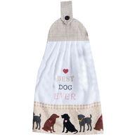 Kay Dee Designs Fur Real Pets Dog Tie Towel