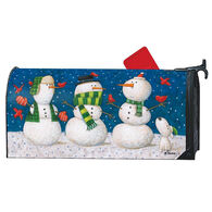 MailWraps Winter Pals Magnetic Mailbox Cover