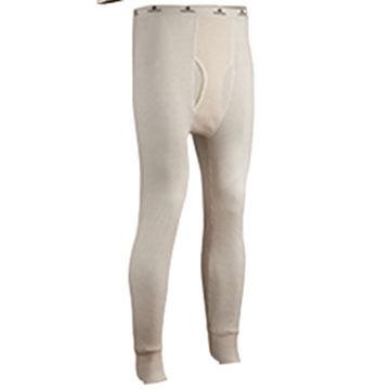 Indera Mills Men's Big & Tall 100% Cotton Waffle Knit Baselayer Pant