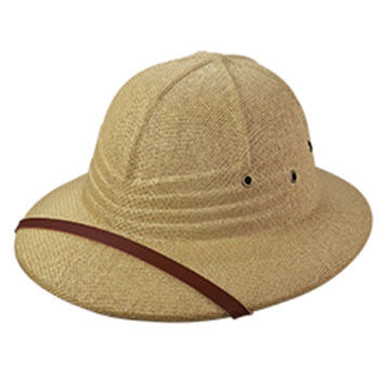 Broner Men's Straw Pith Helmet Hat