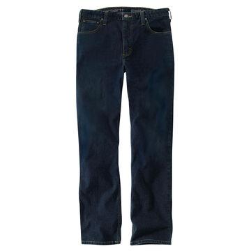 Carhartt Mens Rugged Flex Straight Fit Tapered-Leg Jean