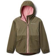 Columbia Girl's Rainy Trails Fleece Lined Jacket