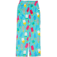 Candy Pink Girls' Popsicle Fleece Pajama Pant