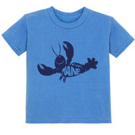 Lakeshirts Toddler Roddy Reego Lobster Short-Sleeve T-Shirt