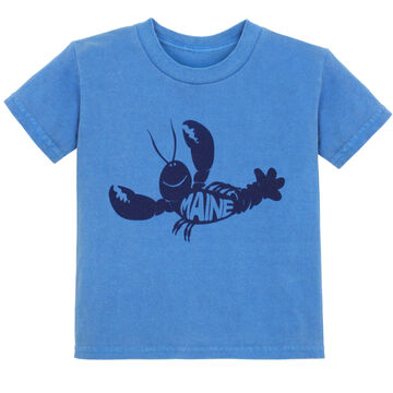 Lakeshirts Toddler Roddy Reego Lobster Short-Sleeve T-Shirt