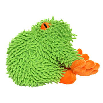VIP Products Mighty Microfiber Jr. Frog Dog Toy