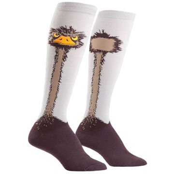 Sock It To Me Womens Ostrich Sock